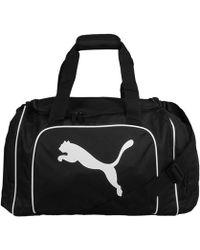 PUMA - Team Cat Medium Bag Men's Sports Bag In Black - Lyst