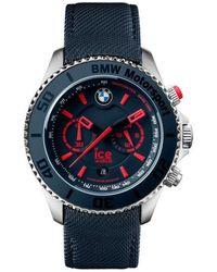 Ice-watch Horloge Bmw Motorsport Bm.ch.brd.b.l.14 - Blauw