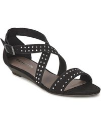 Tamaris - Braila Women's Sandals In Black - Lyst