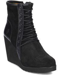Fly London - Poet Women's Low Ankle Boots In Black - Lyst
