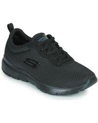 Skechers Fitness Schoenen Flex Appeal 3.0 - Zwart