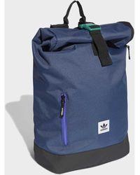adidas Rugzak Premium Essentials Roll-top Rugzak - Blauw
