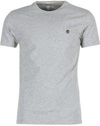 Timberland - Ss Dunstan River Crew Tee Men's T Shirt In Grey - Lyst