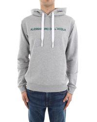 Alessandro Dell'acqua Sweat-shirt AD0266/M0144 - Gris