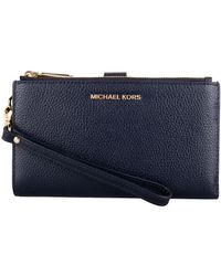 MICHAEL Michael Kors Avondtasje Jet Set Double Zip Wristlet - Blauw
