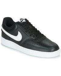 Nike Court Vision Low Zapatillas Negro - Azul