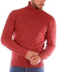 Gran Sasso CICLISTA suéteres hombre rojo