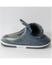 Kebello Chaussons lapins Taille : F Gris 36 Chaussons