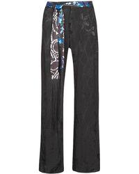 Desigual Pantalón fluido GLYFADA - Negro