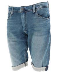 Teddy Smith Scotty 3 reg fripp short Short - Bleu