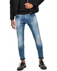 G-Star RAW Jeans Revend Skinny Jeans - Bleu