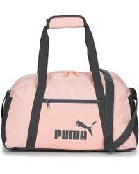 59c05dc6103 PUMA En Pointe Sports Bag in White for Men - Lyst