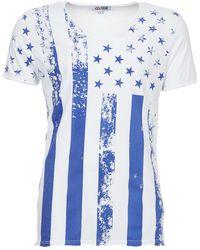 Yurban - Americ Men's T Shirt In White - Lyst