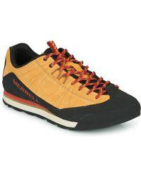 Merrell Sneakers Catalyst Suede - Marrone