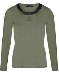 Bleu D'azur CARA T-shirt - Vert