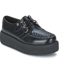 T.U.K. - Mondo Hi Women's Casual Shoes In Black - Lyst