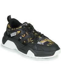 Versace Jeans Couture Lage Sneakers Yzasf2 - Zwart