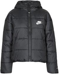 Nike Donsjas W Nsw Tf Rpl Classic Hd Jkt - Zwart