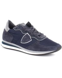 Philippe Model Lage Sneakers A10itzluwb11 - Blauw