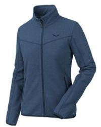 Salewa Bluza Fanes Full-zip 25974-8670 Fleece Jacket - Blue