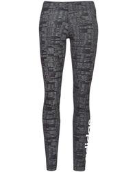 adidas Legging E Aop Tig - Zwart
