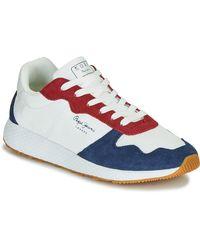 Pepe Jeans Lage Sneakers Koko Esse - Wit