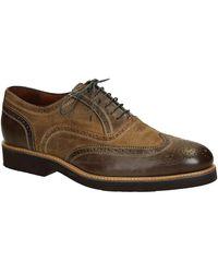 Leonardo Shoes Klassieke Schoenen 06650/forma 40 Cancun Dark - Bruin