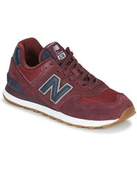 New Balance Lage Sneakers 574 - Rood