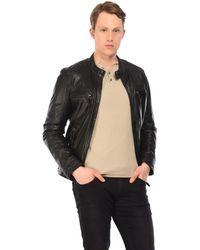 0c292a9f77 Leather Jacket Men's In Black