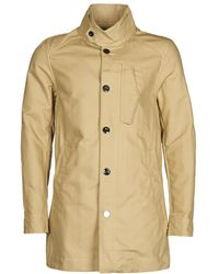 G-Star RAW Trenchcoat Scutar Half Lined Trench - Naturel