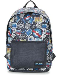 Rip Curl - Dome Woven Boys's Children's Backpack In Blue - Lyst
