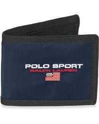 Polo Ralph Lauren Portemonnee Sprt Bllfld-wallet-nylon - Blauw