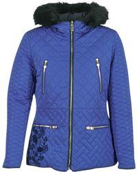 Desigual - Giordu Women's Jacket In Blue - Lyst