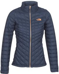 The North Face - Thermoball Jacket Women's Jacket In Blue - Lyst