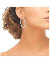 Sc Crystal B1689 Boucles oreilles - Métallisé