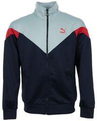 PUMA Trainingsjack Iconic Mcs Track Jacket - Blauw