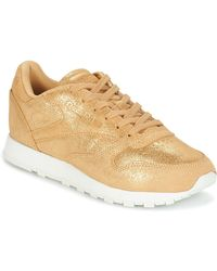 Reebok Lage Sneakers Classic Leather Shimmer - Metallic