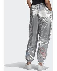 adidas Pantalón chandal Pantalón Adicolor Tricolor Metallic Japona - Metálico