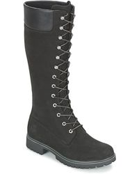 timberland femme bottes noir