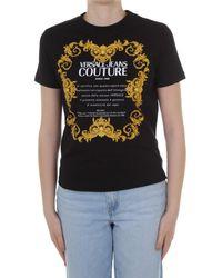 Versace Jeans Couture B2 HWA7TJ 30319 T-shirt - Noir
