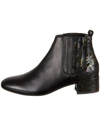 Think! - Glei Women's Low Ankle Boots In Black - Lyst