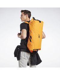 Reebok Sac à dos Sac de sport convertible Active Enhanced - Orange