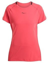 Saucony SAW800249 T-shirt - Rouge