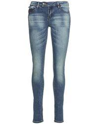 Ddp - Lisia Women's Skinny Jeans In Blue - Lyst