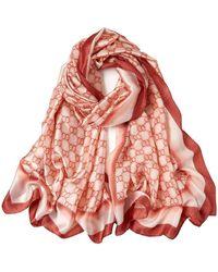 Versace EASYRING Echarpe - Rouge