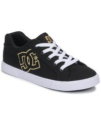 DC Shoes Lage Sneakers Chelsea Tx - Zwart