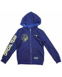 Rg 512 Zipped Hoodie Men's Sweatshirt In Blue