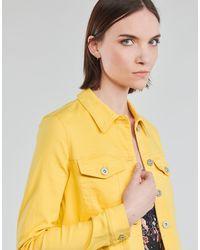 Vero Moda Giacca In Jeans Vmhotsoya - Giallo