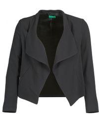 Benetton - Molibo Women's Jacket In Black - Lyst