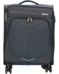 American Tourister A378124889 Soft Suitcase - Blue